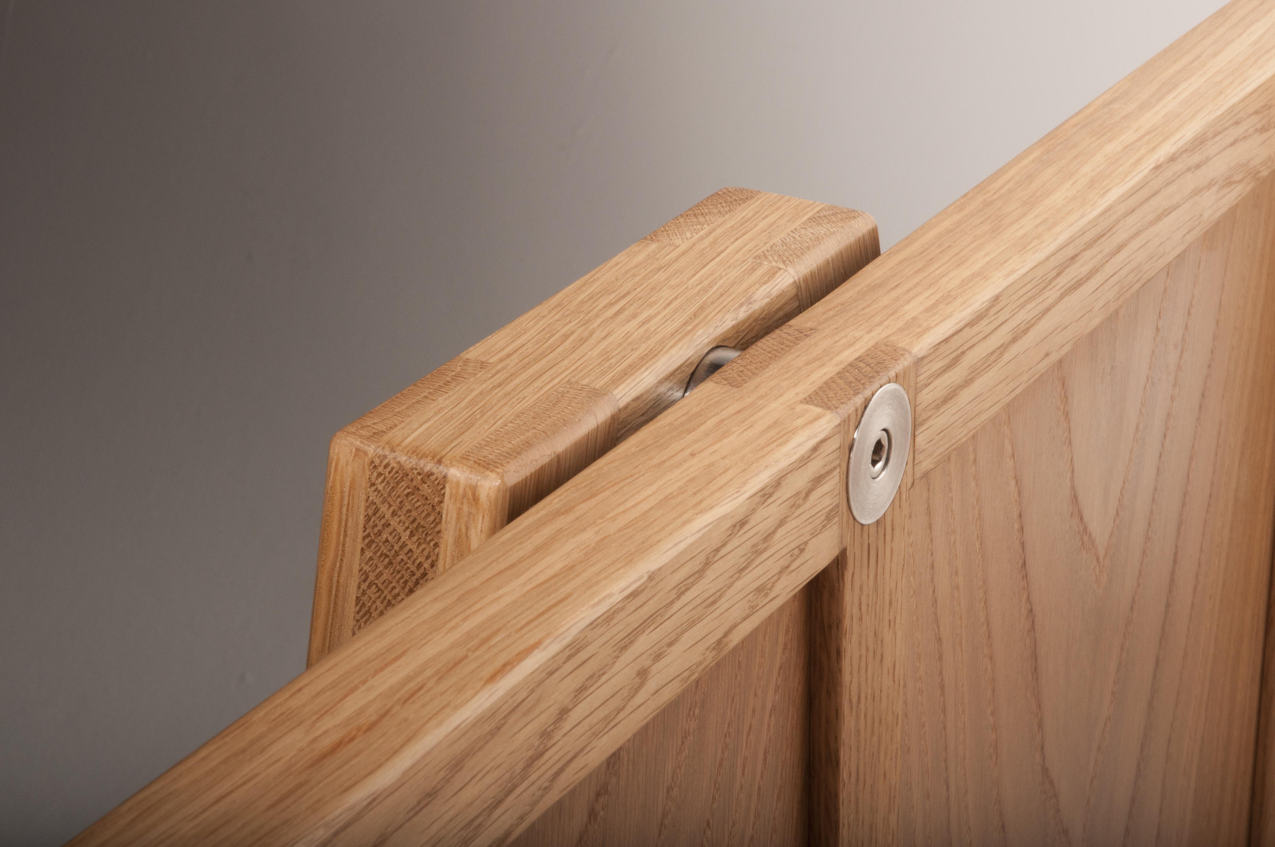 Solid Oak children's cot