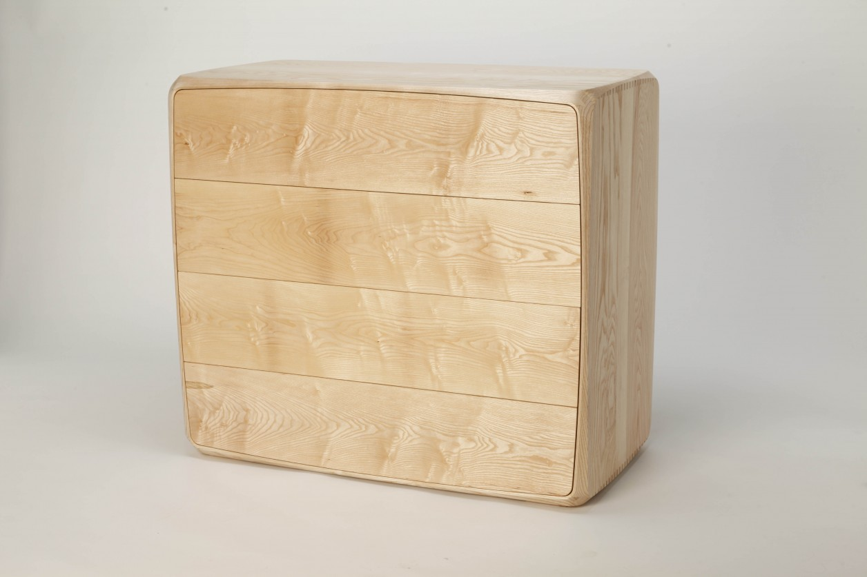 A bespoke chest of drawers, an example of our Cabinet making service.