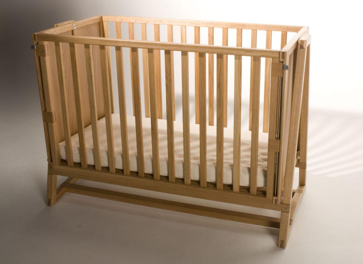 Bespoke wooden cot, Holland Park, London